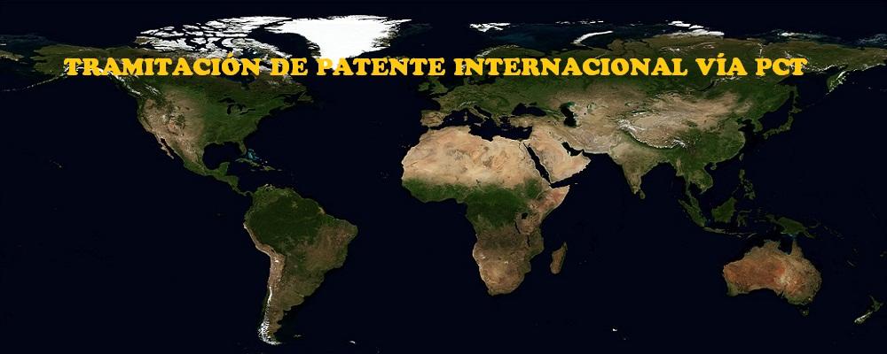 Tramitación de patente internacional