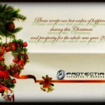 Season's greetings and happy New Year 2013