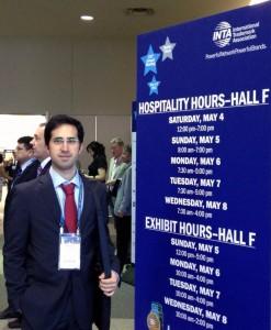 Rodrigo Sammut en el centro de convenciones de INTA 2013