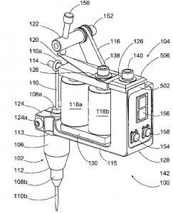 wireless tattoo applicator