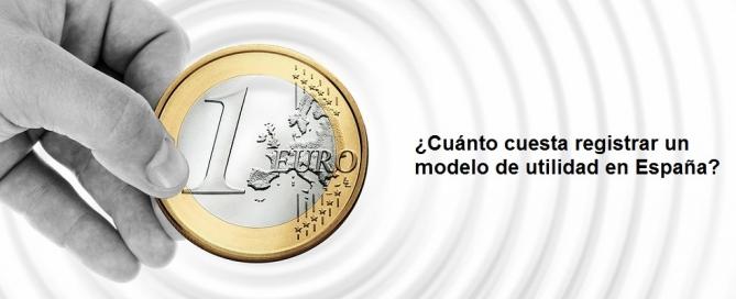 Cuánto cuesta registrar un modelo de utilidad en España
