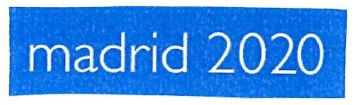 primer logo madrid 2020
