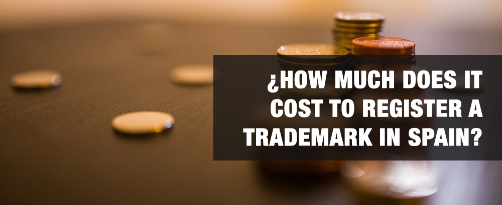 how much does it cost to register a trademark in spain