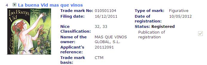 Ejemplo 1_Registro de marcas de vino