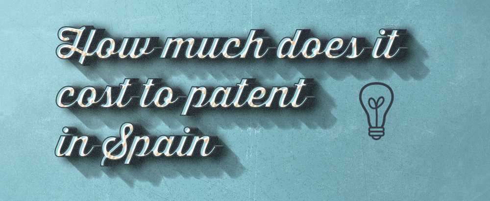 how much does it cost to patent in spain