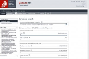 Cómo hacer una búsqueda sencilla de patentes