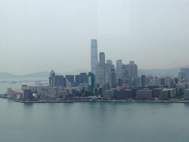 Detalle de la isla de Kowloon