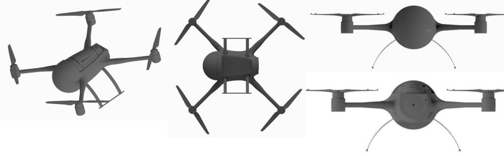 diseño registrado drones