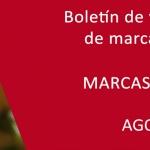 Boletín de vigilancia de marcas de vino: Agosto 2014