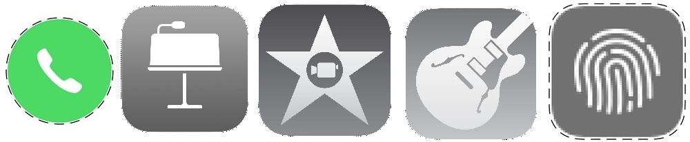 diseños inconos apple