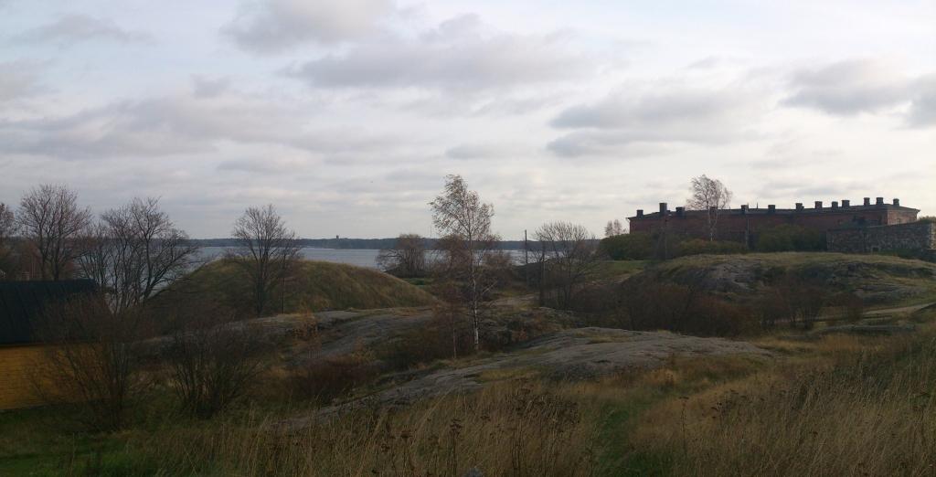 Panorámica en Suomenlinna