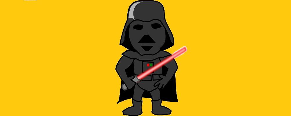 respiración de Dark Vader marca registrad
