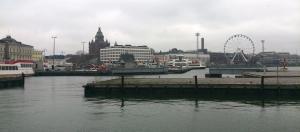 vista desde el puerto de Helsinki
