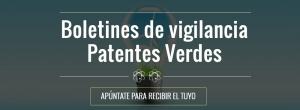 boletines de vigilancia de patentes verdes