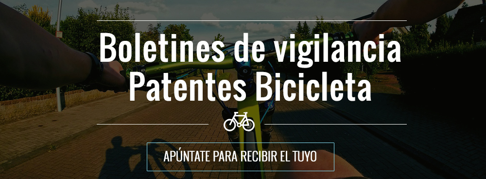 boletines vigilancia patentes bicicletas