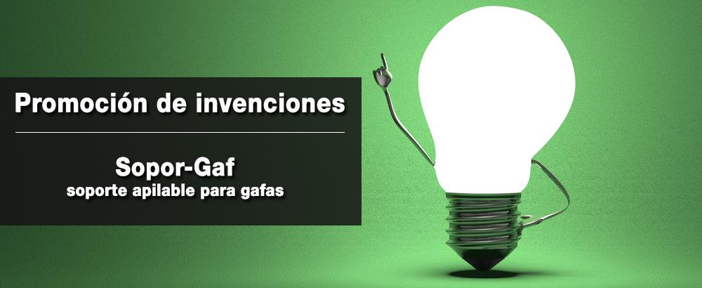 promocion de invenciones sopor gaf