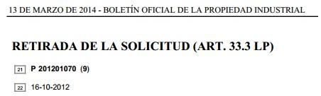 No solo de patentes vive el examinador 6