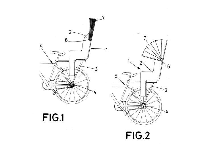 Nuevo bolet n de vigilancia de patentes para bicicleta enero 2015 - Silla portabebes bicicleta ...