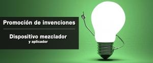promocion de invenciones_dispositivo mezclador y aplicador
