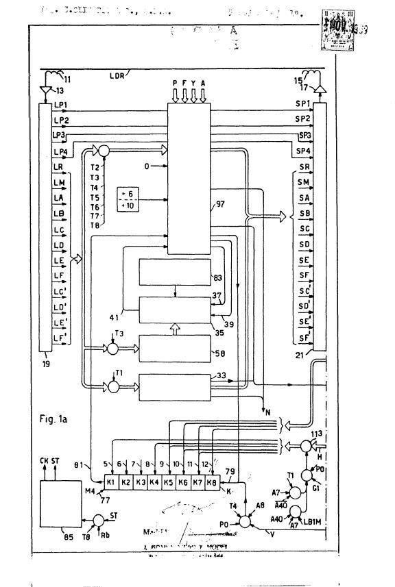 perfeccionamientos en calculadoras electronicas