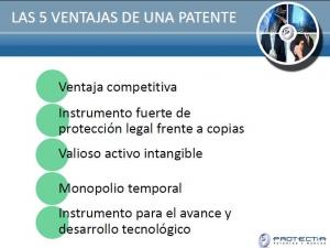 ventajas de una patente