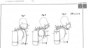 Invención Cousteau aparato respiratorio para buceadores