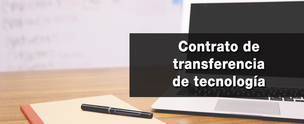 contrato de transferencia de tecnologia