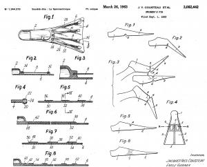 invenciones aletas Cousteau