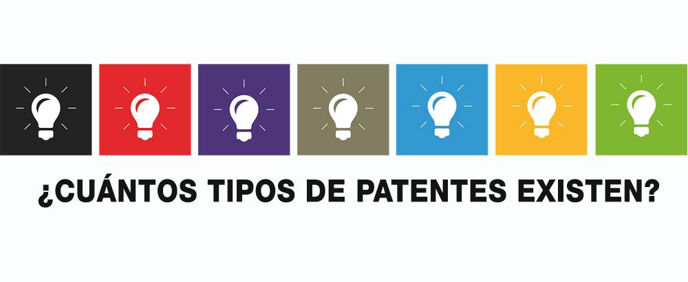 tipos de patentes