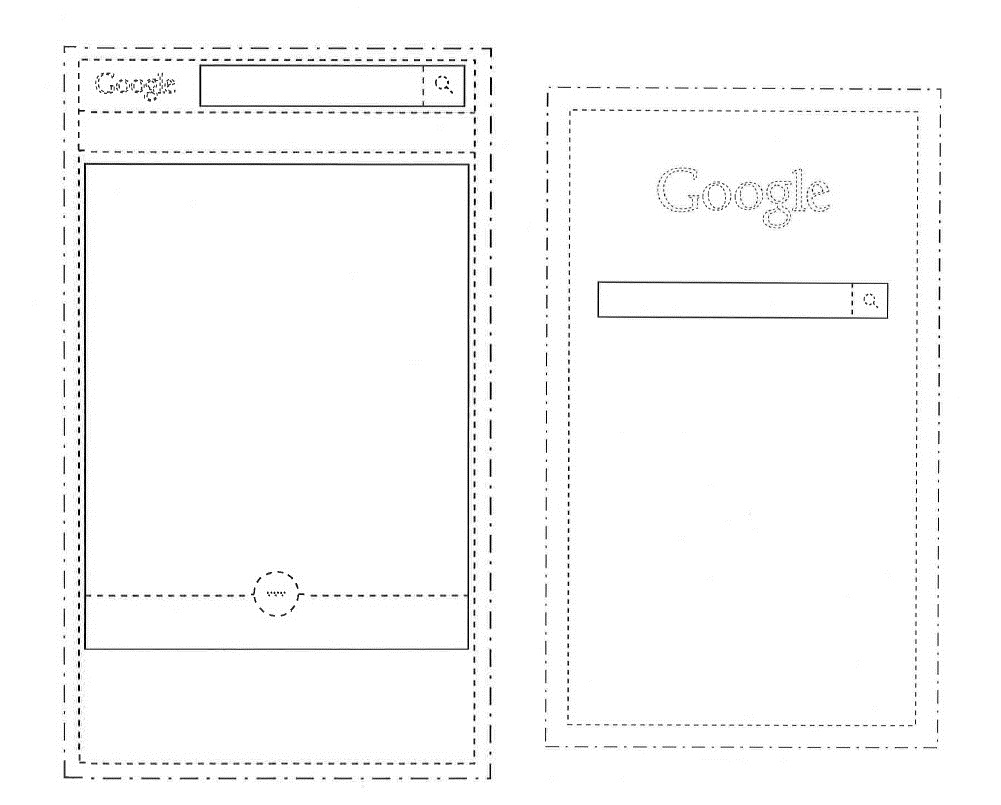 Diseños del nuevo google