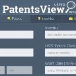 PatentsView el nuevo buscador de patentes de la USPTO