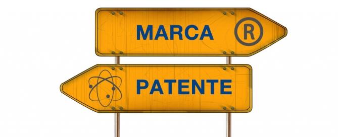 diferencia entre marca y patente