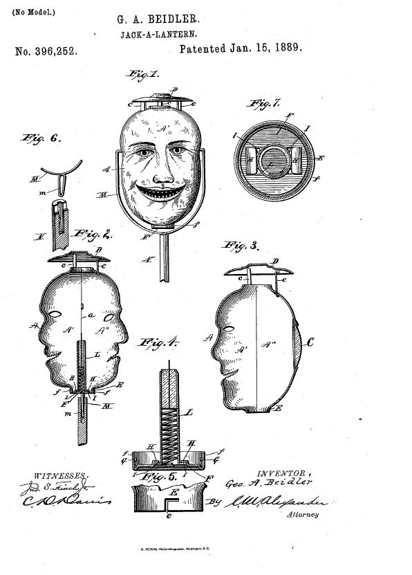 jack o lantern patent