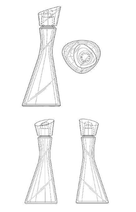 diseño botella perfume kenzo