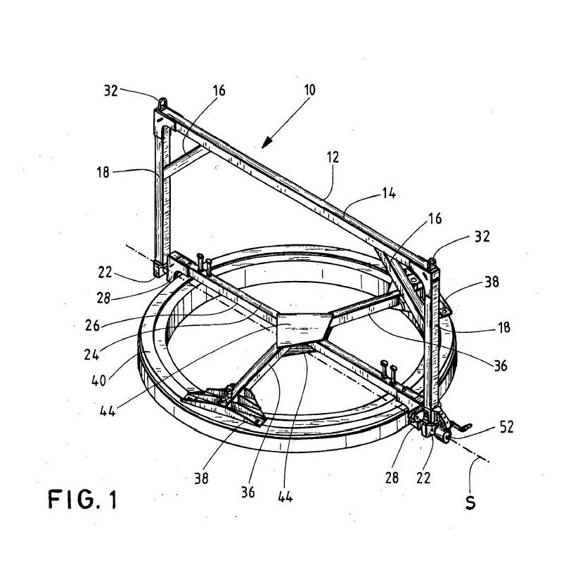 Dispositivo de manipulación para cojinete de palas de rotor