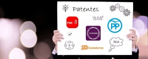 los programas electorales y las patentes