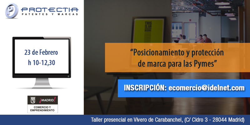 Taller para pymes en madrid aprende c mo proteger tu marca for Vivero online madrid