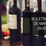 Nuevo boletín de vigilancia de marcas de vino: Enero 2016
