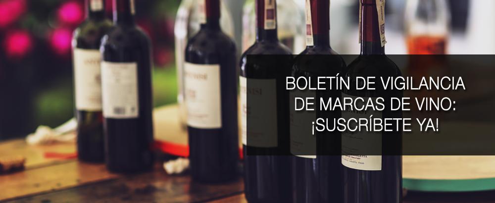 boletin vigilancia de marcas de vino enero 2016