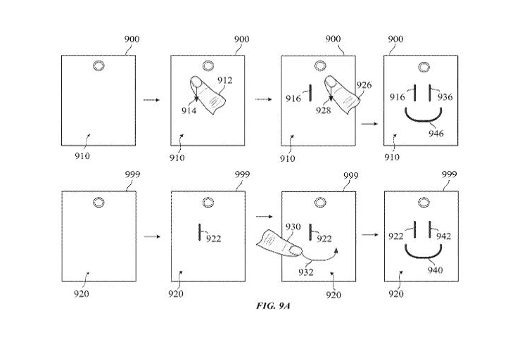 electronic touch communication