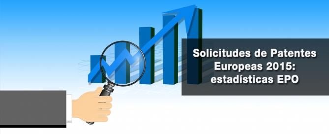 solicitudes de Patentes Europeas 2015