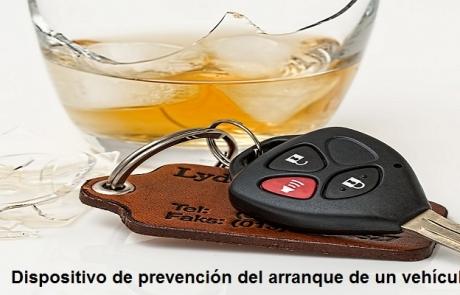 Modelo de utilidad en venta: Dispositivo de prevención del arranque de un vehículo